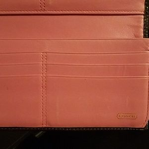 Coach Bags - Colorful Stripped Coach Wallet